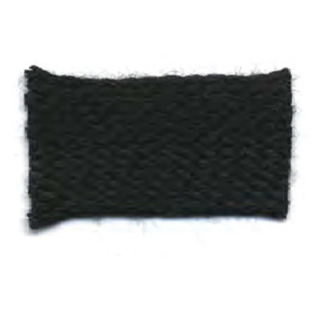 3/16'' ACRYLIC BRAID Black