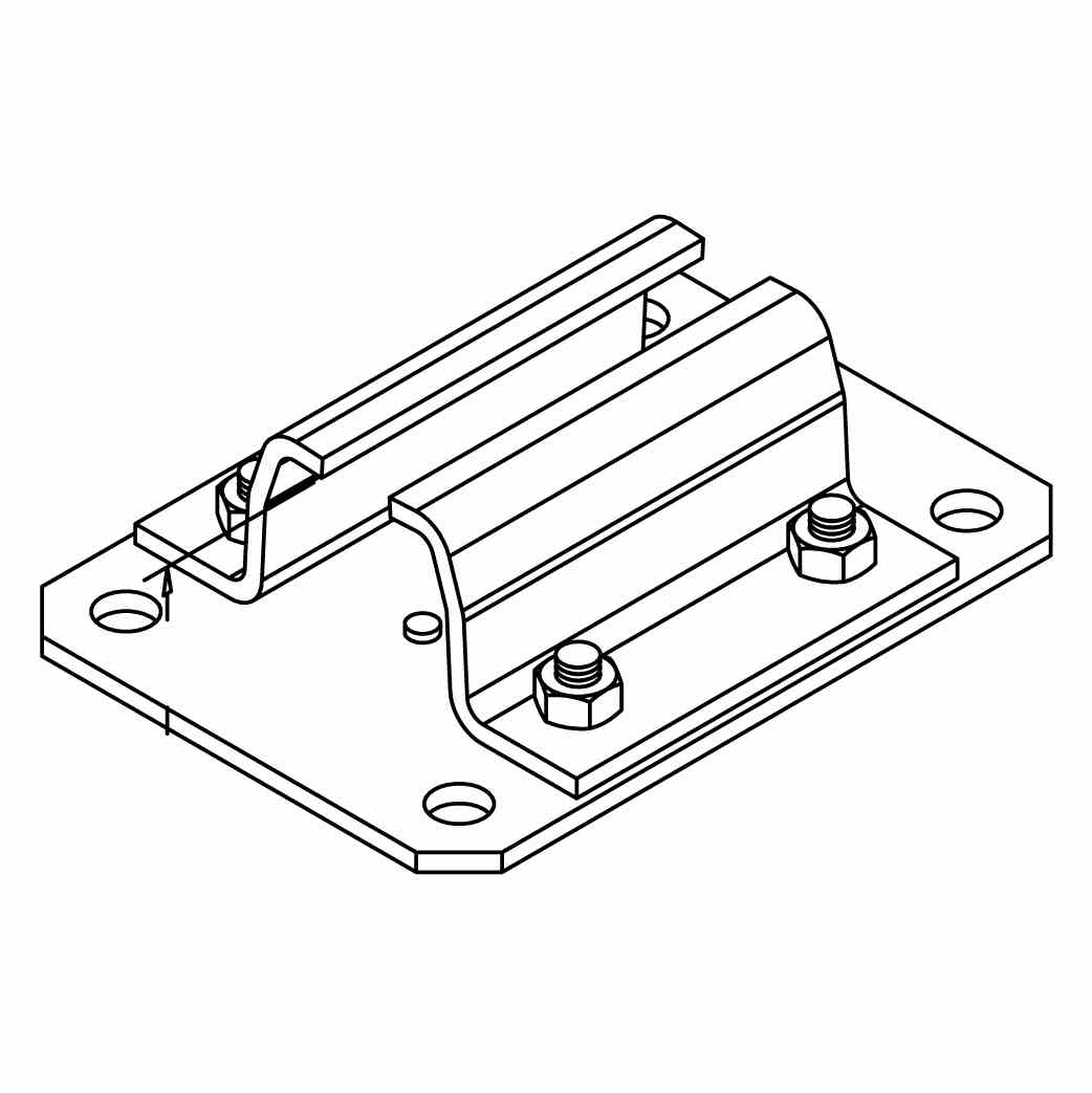CEILING SUPPORT CONNECTOR