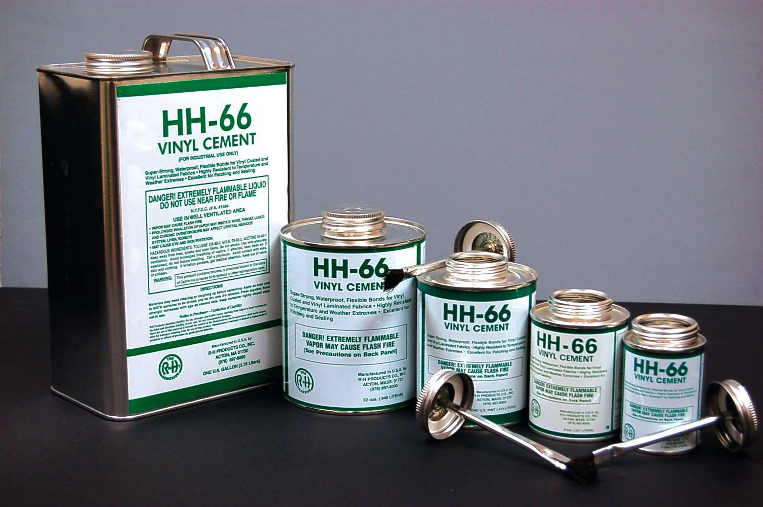 HH-66 Vinyl Cement (1 Gallon can of thinner)