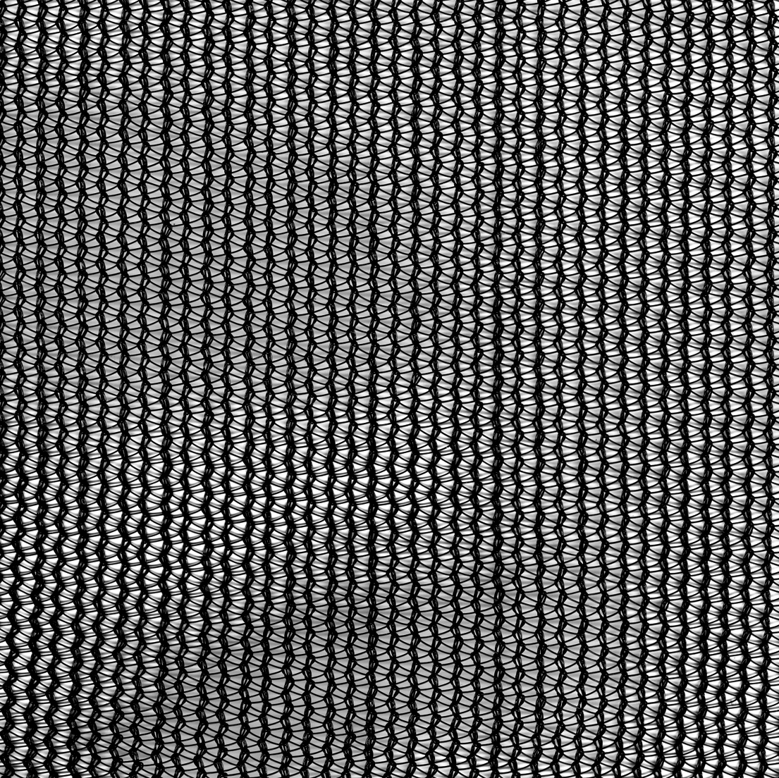 Knitted Polypropyleneshade Mesh Black, 121″