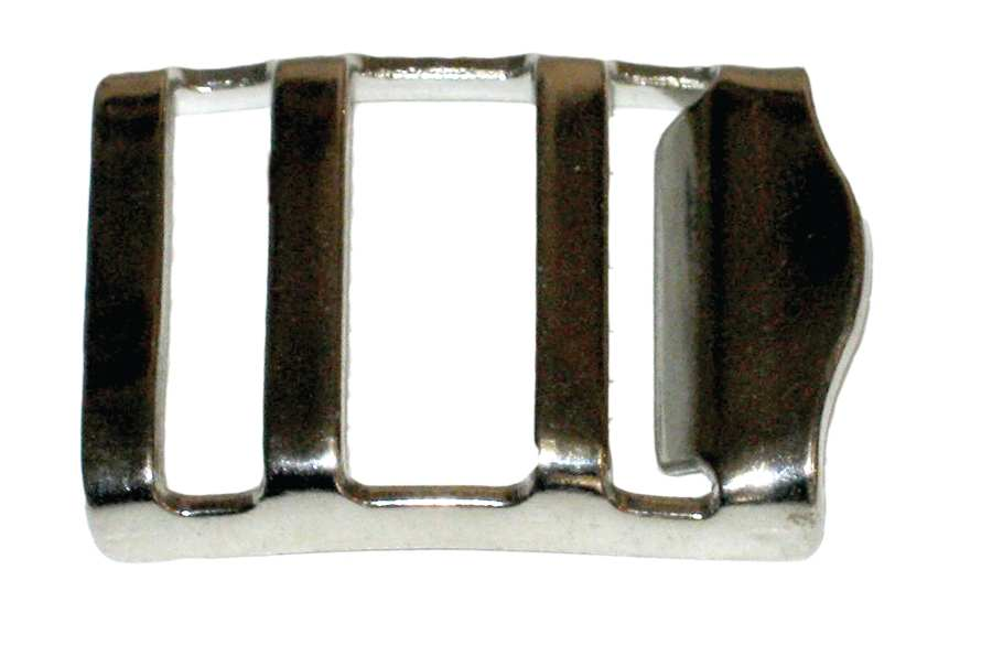 Double Bar Tabler Buckle With Lip