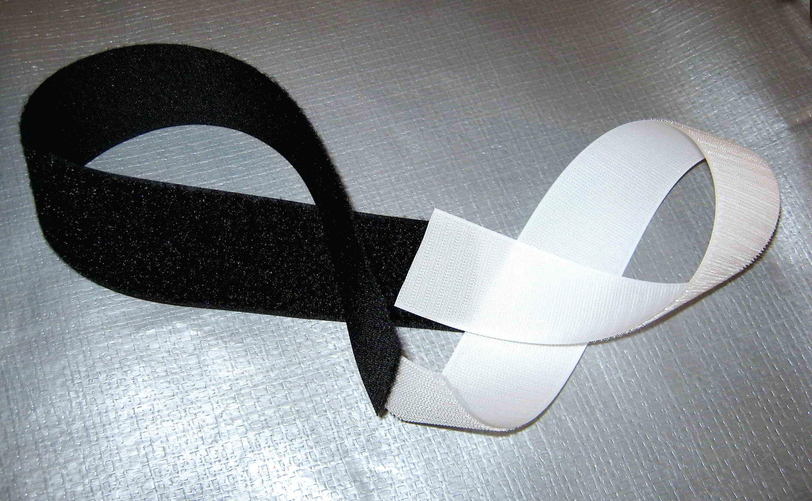 """Sew On Hook Black 1"""""""