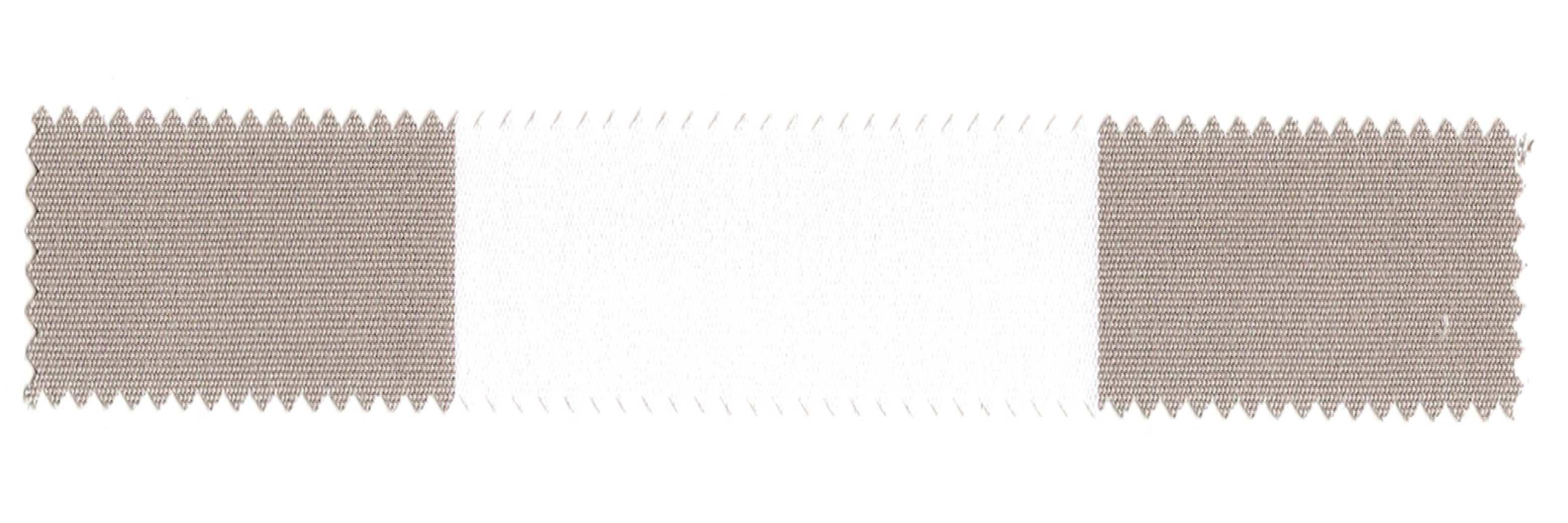 SATTLER ELEMENTS BLOCK STRIPES Gray-White