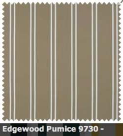 SATTLER ELEMENTS OUTDURA STRIPES Edgewood Bay Pumice