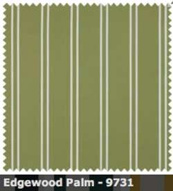 SATTLER ELEMENTS OUTDURA STRIPES Edgewood Bay Palm