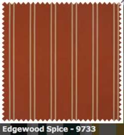 SATTLER ELEMENTS OUTDURA STRIPES Edgewood Bay Spice