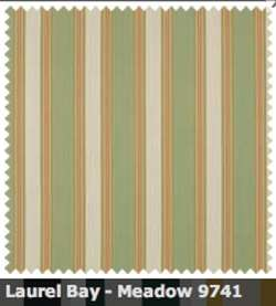 SATTLER ELEMENTS OUTDURA STRIPES Laurel Bay Meadow