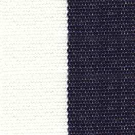 SATTLER OUTDURA BIG SUR BLOCK STRIPES True Blue – Captain Navy/White