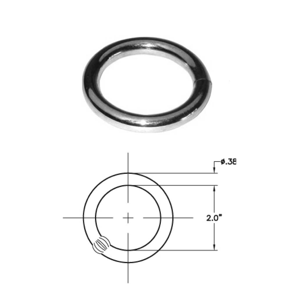 ROUND RING .25 lbs