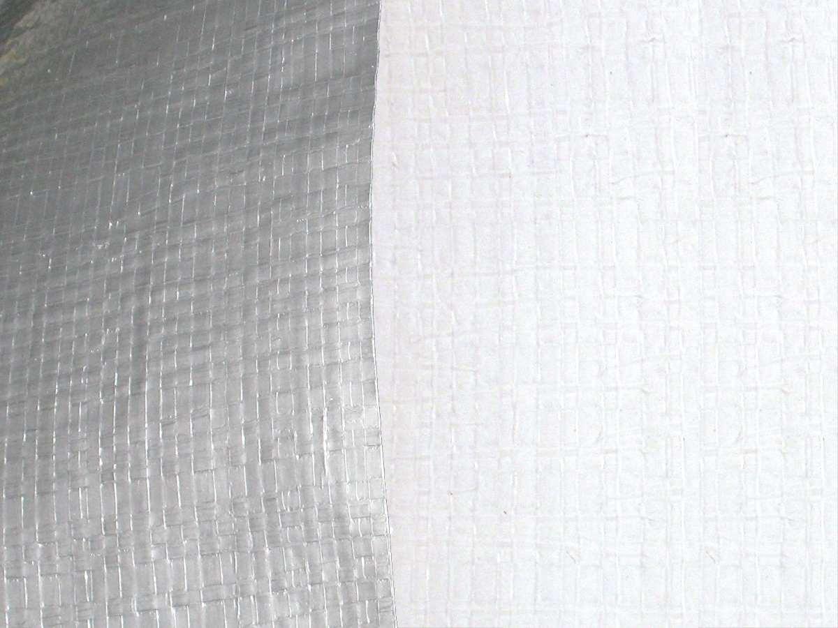 "TS-12000 (12 Mil Reinforced Polyethylene); Silver/White (72"")"