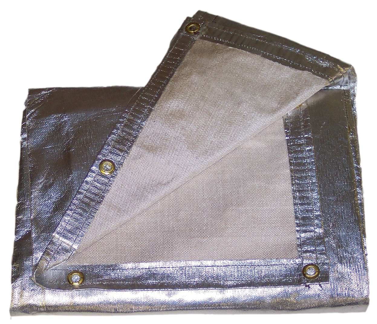 18 oz. Aluminized Fiberglass Blankets and Curtains