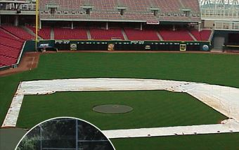 Infield Skin Tarps and Spot Covers